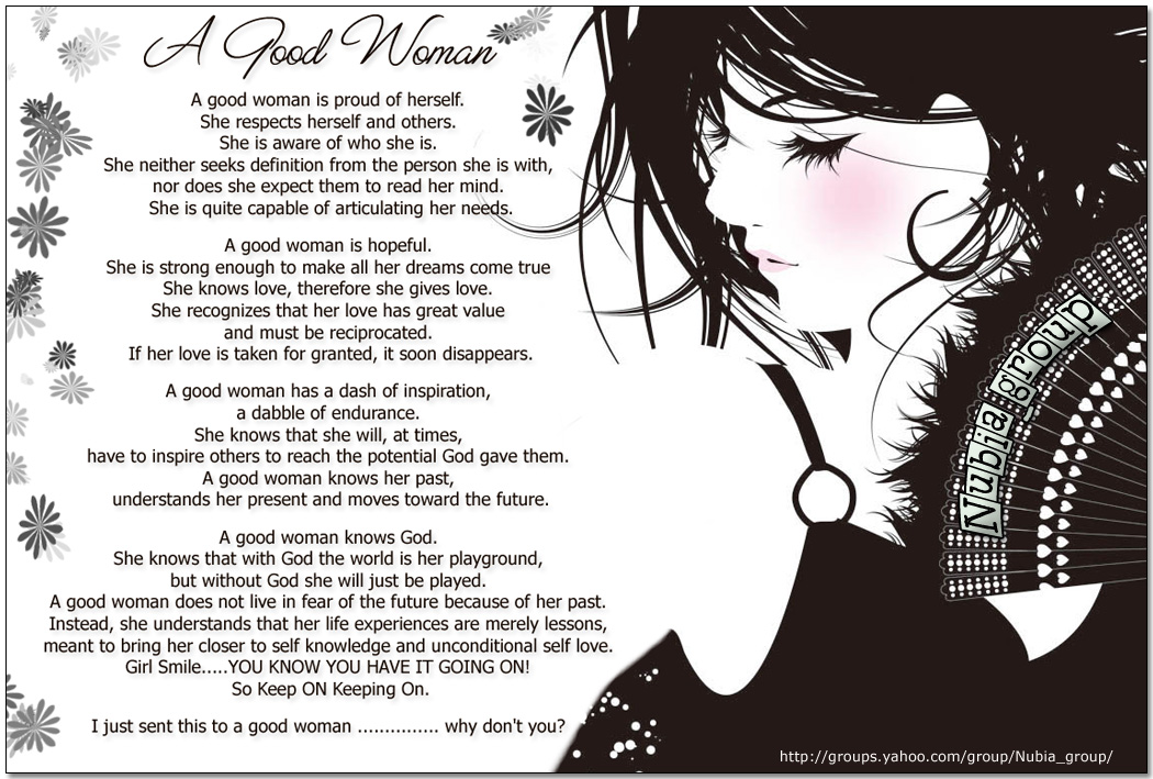 A Good Woman The Tale Of My Heart